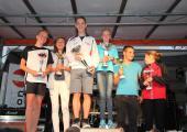 -Oliver Hörndler auf dem Podium - Belohnung für eine gute Leistung!Zum Vergrößern auf Bild klicken.